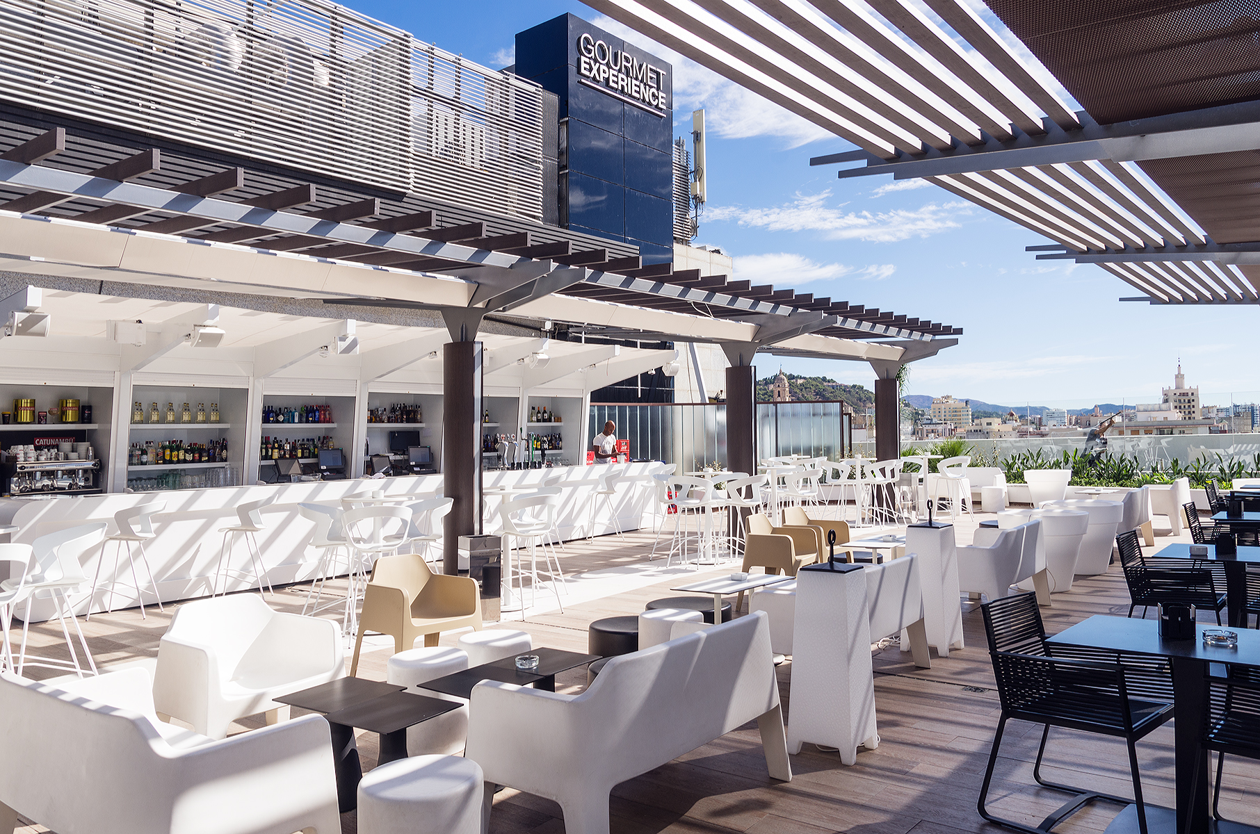 La Terraza Lob At Gourmet Experience Málaga Gana
